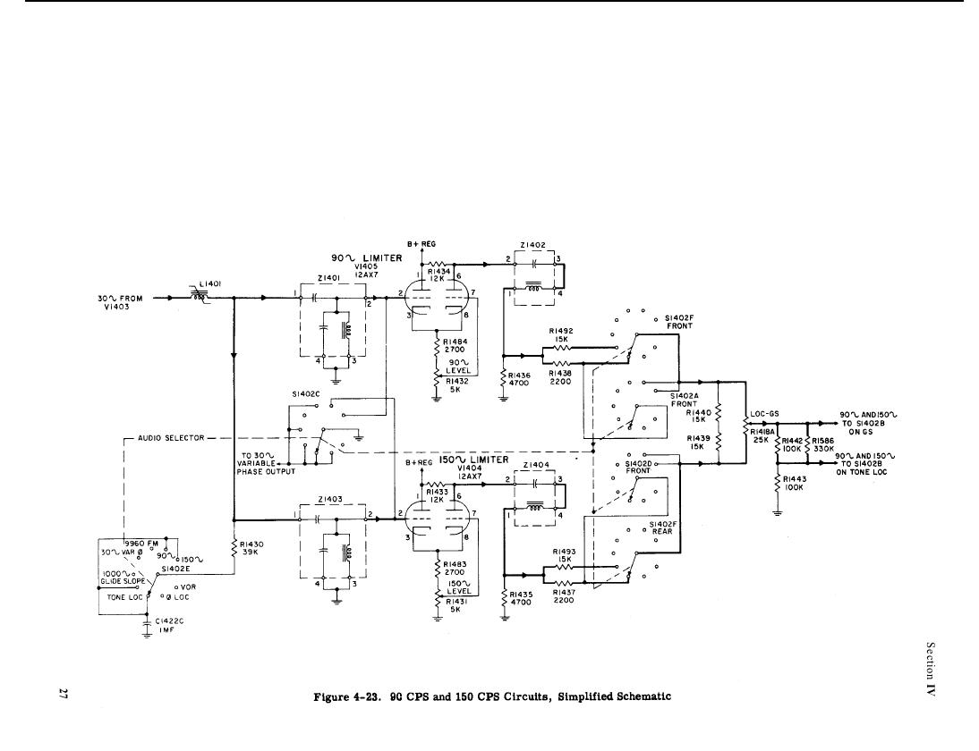 Figure 4 23 9c Cps And 150 Circuits Simplified Schematic Audio Tone Generator Circuit